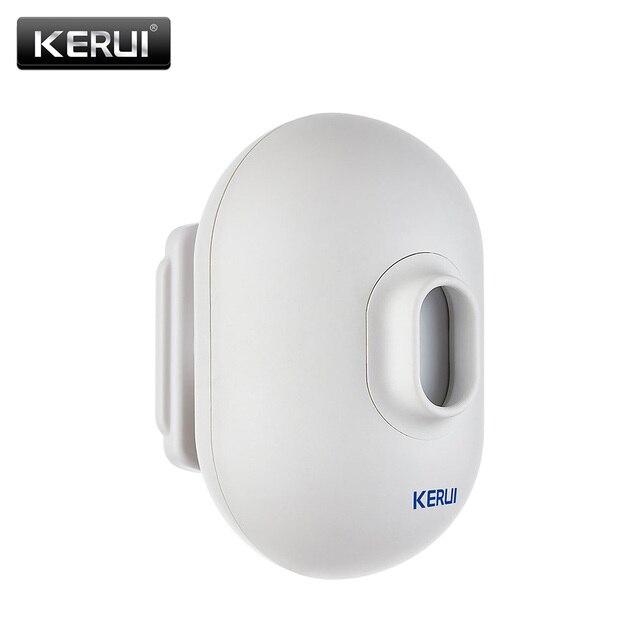KERUI P861 חיצוני עמיד למים PIR חיישן תנועת גלאי בחניה מוסך פורץ נגד גניבה מעורר עבור מערכת אזעקת אבטחה