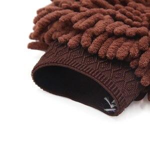 Image 4 - UXCELL – gant de nettoyage en microfibre marron, moufle de nettoyage de la poussière de la maison, de la voiture et des véhicules