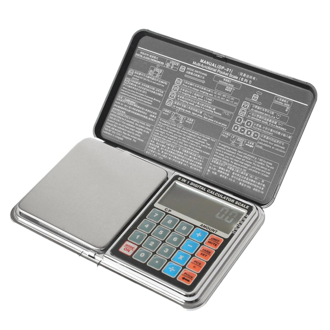 200 г Мини цифровые весы высокой точности подсветка LCD электрические карманные кухонные весы для ювелирных изделий грамм вес стилус весы сил...