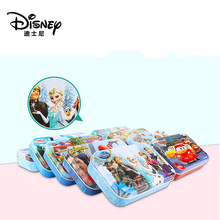 Disney Snow Queen Car 60 Pieces Of Small Coins Puzzle Children Wooden Education Toy Baby