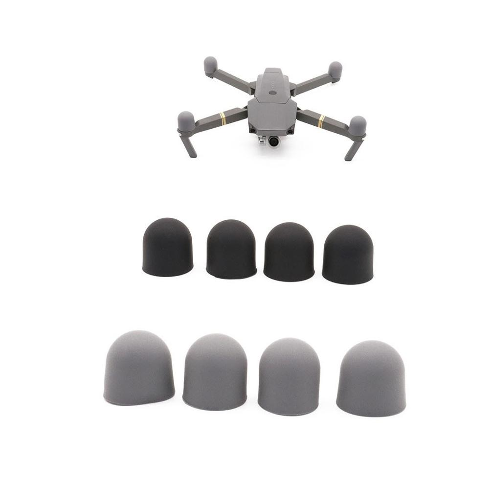 4pcs Motor Silicone Cover Dust-proof Cap Engine Protector For DJI Mavic Pro Platinum Mavic 2 Pro Zoom Drone Transport Protector