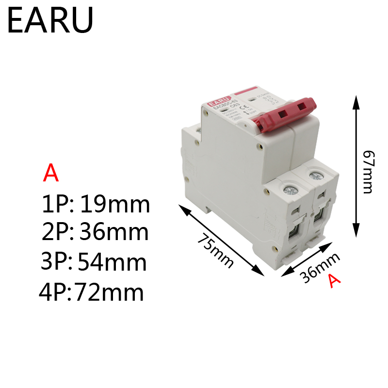 Hae963a1b074b406bac4a87d01c3f4fb18 - DC 1000V 1P 2P 3P 4PSolar Mini Circuit Breaker Overload Protection Switch 6A 10A 16A 20A 25A 32A 40A 50A 63A Photovoltaic MCB PV