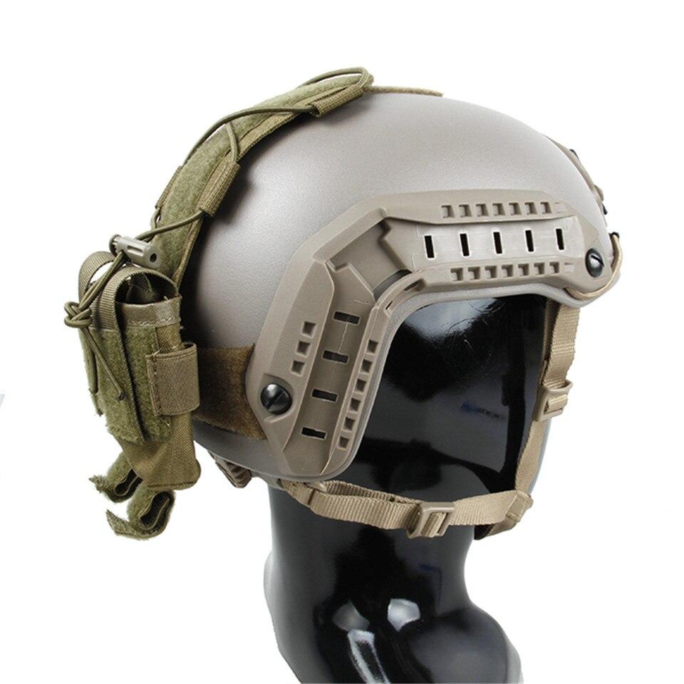 bolsa especial multicam preto camuflagem colar anexado acessório bolsa tmc2873
