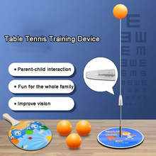Elastic soft shaft table tennis training device anti-myopia household toy soldiers ball self-training artifact Free shipping