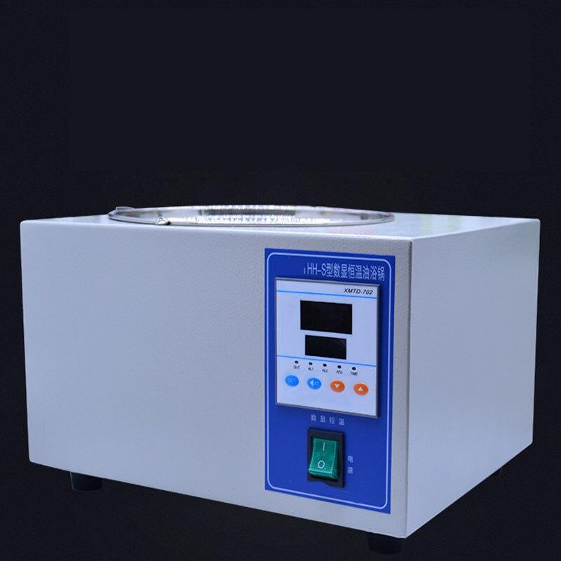 Heating Fast Power Consumption Low Oil Bath Laboratory Oil Bath Digital Display Constant Temperature Oil Bath Hh s 3l 5L - 2