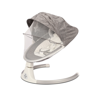 Electric Cradle Chair Baby Crib Swing Chair Children's Bed Baby Rocking Chair Bluetooth Remote Control Infant Sleeping Chair baby rocking chair baby electric rocking chair to appease the cradle bed children s dining chair rocking chair with remote cont
