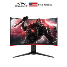 US Captain CQ32G2E 31.5 inch VA, Curved Gaming Monitor, FreeSync Premium, 1ms, 144Hz, QHD Monitor