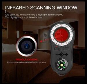 Image 5 - Caméra de Surveillance Anti espion, détecteur de Signal sans fil, Anti cache, détecteur de caméra, lentille de Signal, détection de traceur RF, produits sans fil
