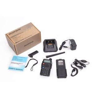 Image 4 - Baofeng UV 5R 8W talkie walkie puissant 3800 mAh 10km 50km longue portée UV5r double bande bidirectionnelle cb radio ar 152 antenne tactique
