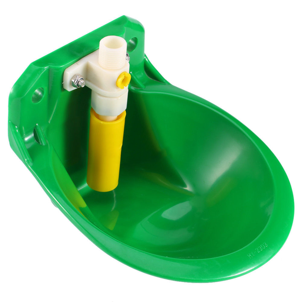 Automatic Water Bowl Float Valve Drinking Stock Plastic Farm For Horse Sheep Dog Farm Supplies