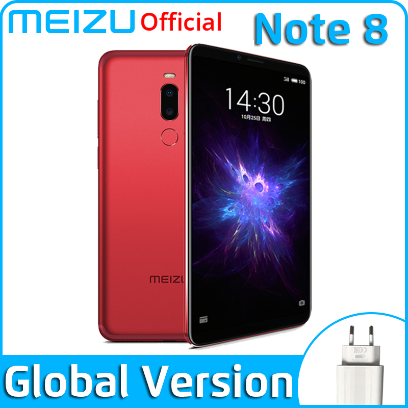 Meizu Note 8 4GB 64GB Global Version Mobile Phone Snapdragon 632 Octa Core Note8 Smartphone Full Metal Body Dual Rear Camera(China)
