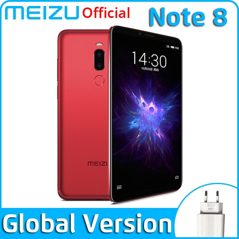 Meizu Note 8 4GB 64GB Global Version Mobile Phone Snapdragon 632 Octa Core Note8 Smartphone Full Metal Body Dual Rear Camera(China)