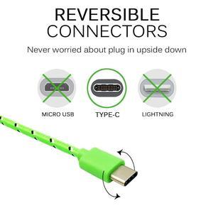 Image 3 - Olnylo USB نوع C كابل شحن سريع كابل البيانات لسامسونج S10 S9 نوت 9 Oneplus 7 شاومي هواوي الهاتف نوع c USB C الكابلات