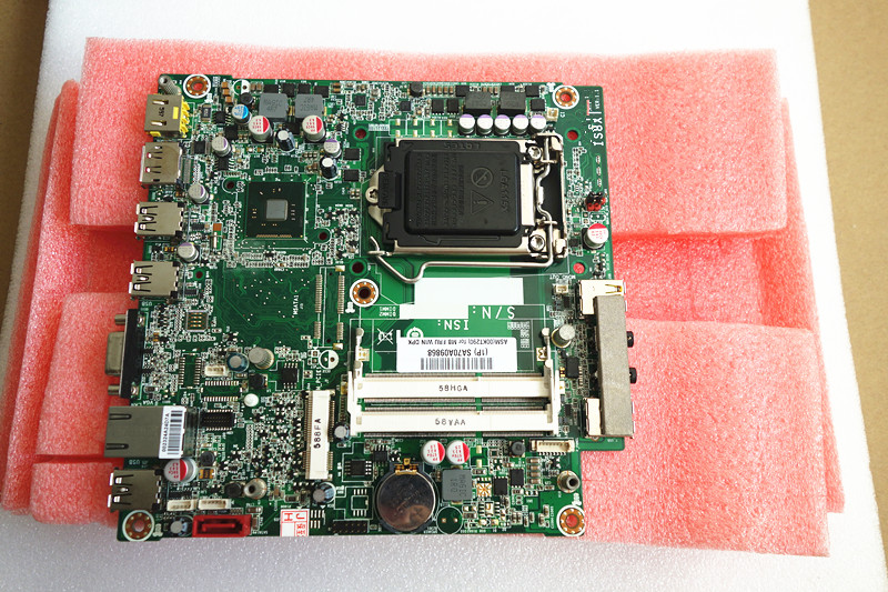NO CPU Lenovo ThinkCentre M73 Tiny IS8XT Motherboard