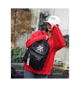 Женский рюкзак для школы Ateez Stray, черный, розовый рюкзак Got7, школьная Дорожная сумка из парусины Monsta X Twice Wanna One