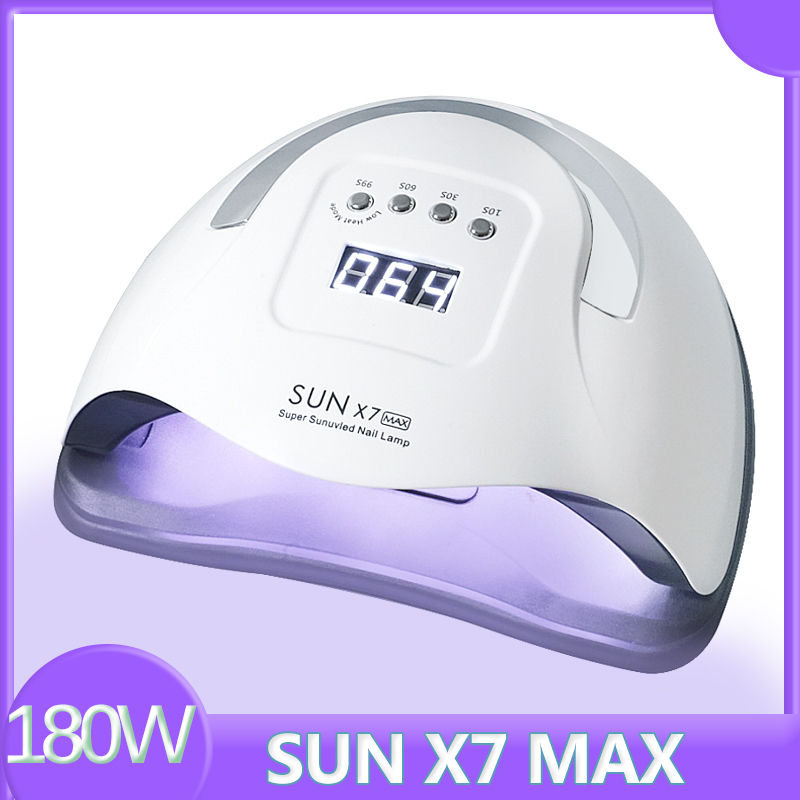 SUN X7 Max All Gel Nail Lamp Auto 57LED UV Lamp Powerful Quick Dry Nail Dryer Professional Nail Drying Lamp