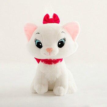 1pc 20cm The Aristocats Cat Plush Toys  Dolls Kawaii Soft Cartoon Animals toys for Children