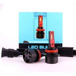 F3 20000LM 90 Вт H4 светодиодный налобный фонарь H7 H8 H11 HB3 HB4 9005 9006 автомобильный налобный фонарь H4 H1 H3 880 H15 Светодиодный противотуманный фонарь для м...