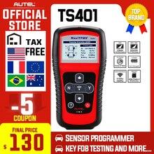 Scanner de Autel MaxiTPMS Ferramenta TPMS OBD2 TS401 Ativar Scan Cópia Do Sensor TPMS OE sensor de ID para Mx Programação Autel TPMS mx Sensor