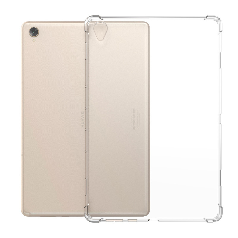 Clear Case for Huawei MediaPad M3 M5 M6 T3 8.4 10.8 Case Transparent TPU Silicone Back Cover for Huawei MatePadPro 10.8 Capa image
