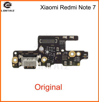 Original USB Board for Xiaomi Redmi Note 7 USB Charger Port Flex Cable Charging Dock Connector PCB Board Flex  Repair Parts jintai micro usb connector charger charging port dock flex cable for lenovo k5 note