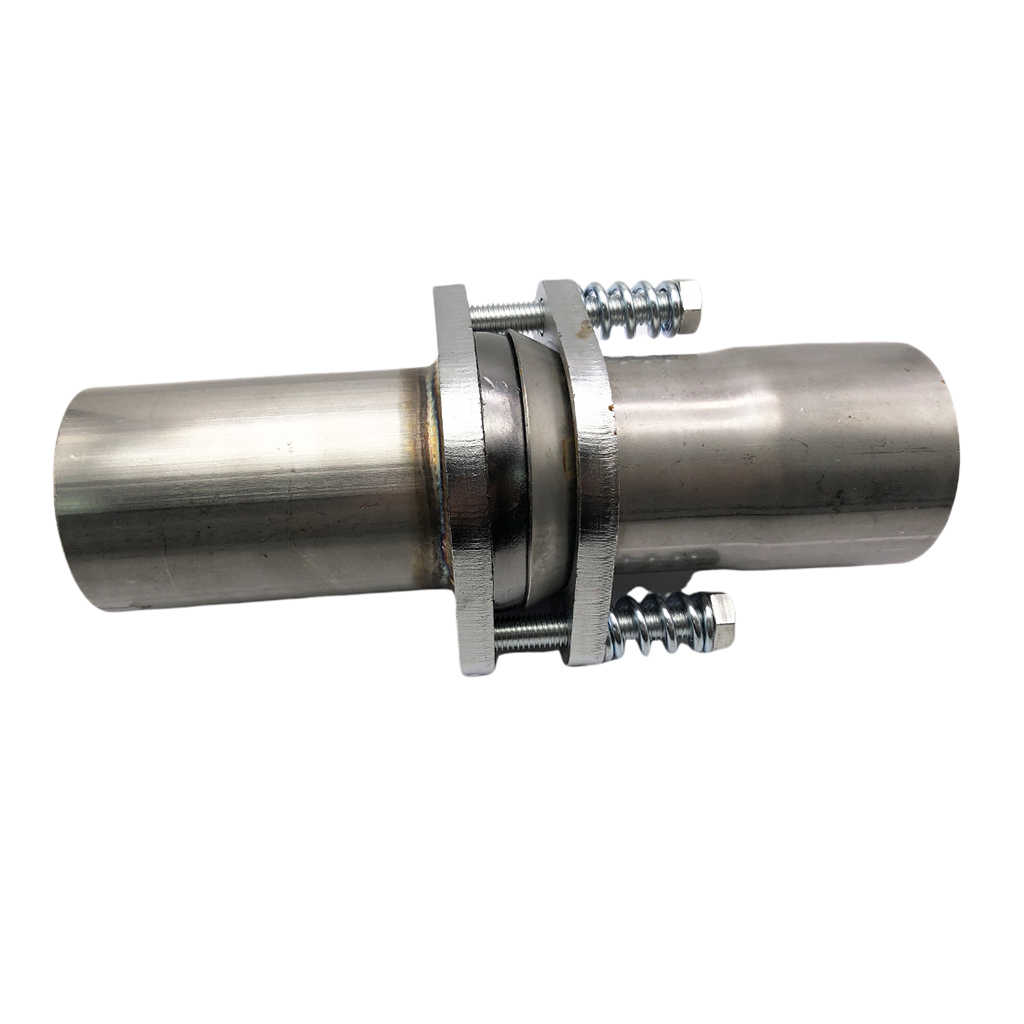 universal exhaust spherical joint w spring bolts inside diameter 2 5