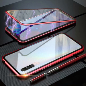 Image 5 - 360 çift şeffaf cam manyetik Metal kasa Xiaomi Redmi için K20 not 7 8 Pro Mi Cc9 Cc9e 9 Se 9t not 10 Pro 128gb küresel kapak