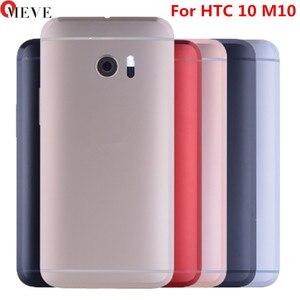 Image 1 - Для HTC 10 One M10 задняя крышка корпуса аккумулятора чехол с кнопкой громкости фотообъектив