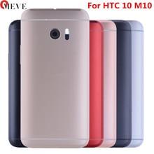 Per HTC 10 Un M10 Posteriore della Batteria Dellalloggiamento del Portello Della Copertura di Caso con Del Volume Tasto di Accensione On Off Pulsante + Macchina Fotografica lente