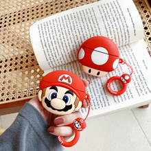 Chinese guy silicone cartoon 3D headset case for AirPods 2 pro Bluetooth case, accessories