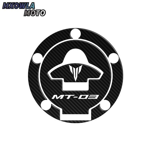 $ 9.09 fiber Motorcycle tank pad/grips protector sticker /Protective Pad For yamaha mt-03 mt03 2015-2016