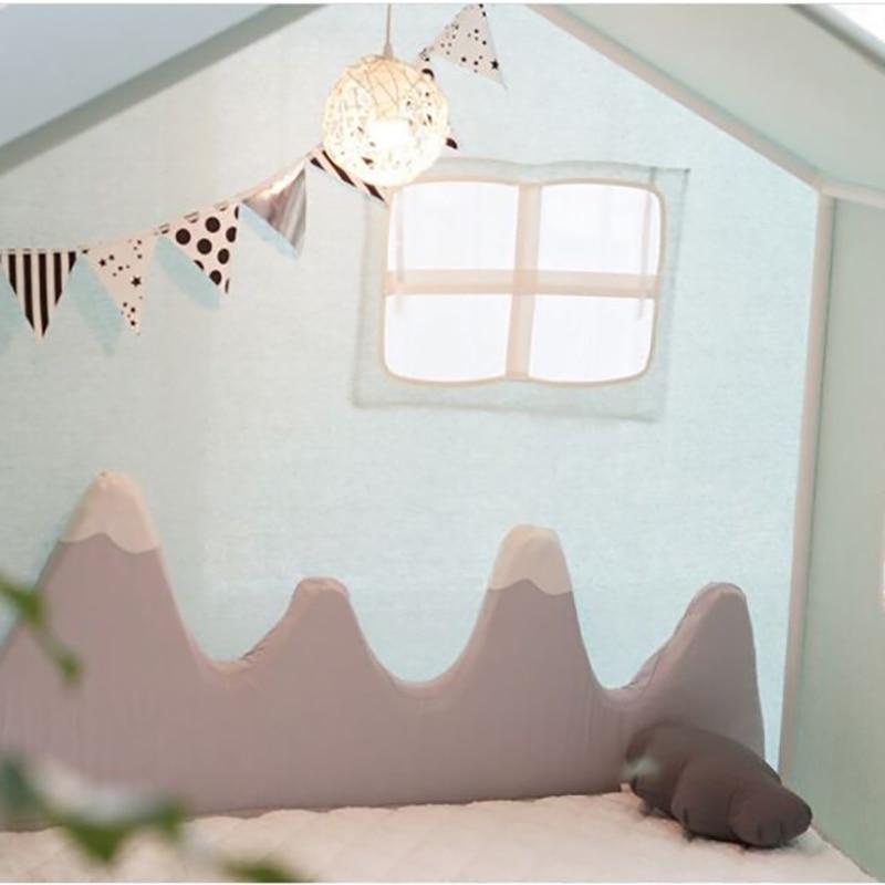 Baby Bed Bumper Cushion Crib Bedding Mountain Protection Pad  Newborn Safety Protection Cushion Pad YZL042