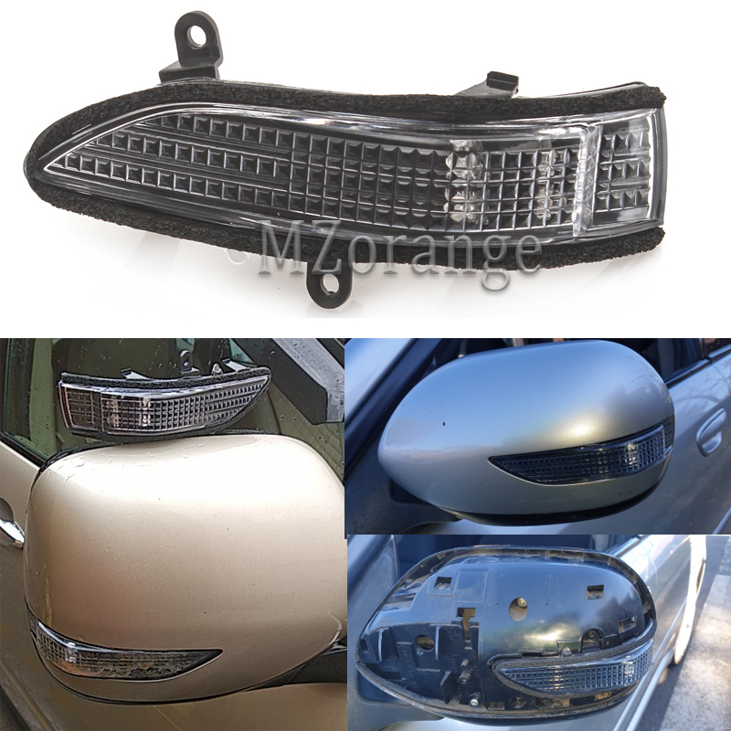 LED Car Rear View Side Mirror Turn Signal Light Led Rearview Mirror Repeater Lamp LED For Subaru Forester Outback Legacy Tribeca