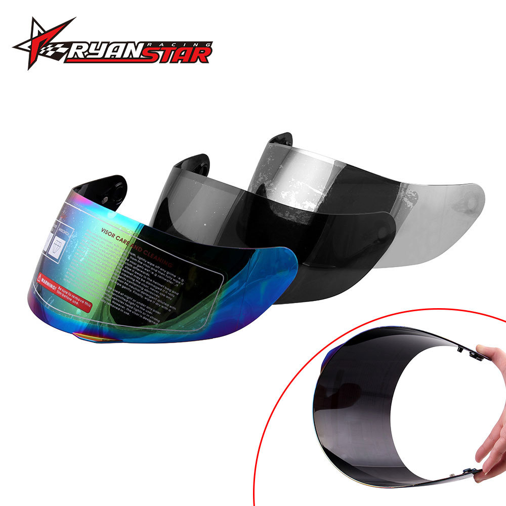 Cross Border Hot Sales Motorcycle Helmet Goggle Suitable For AGV K3 SV K5 Universal Full Face Glasses Multi-color Lens