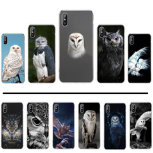 Uil Telefoon Case Voor Iphone 4 4 S 5 5 S 5c Se 6 6 S 7 8 Plus X xs Xr 11 Pro Max(China)