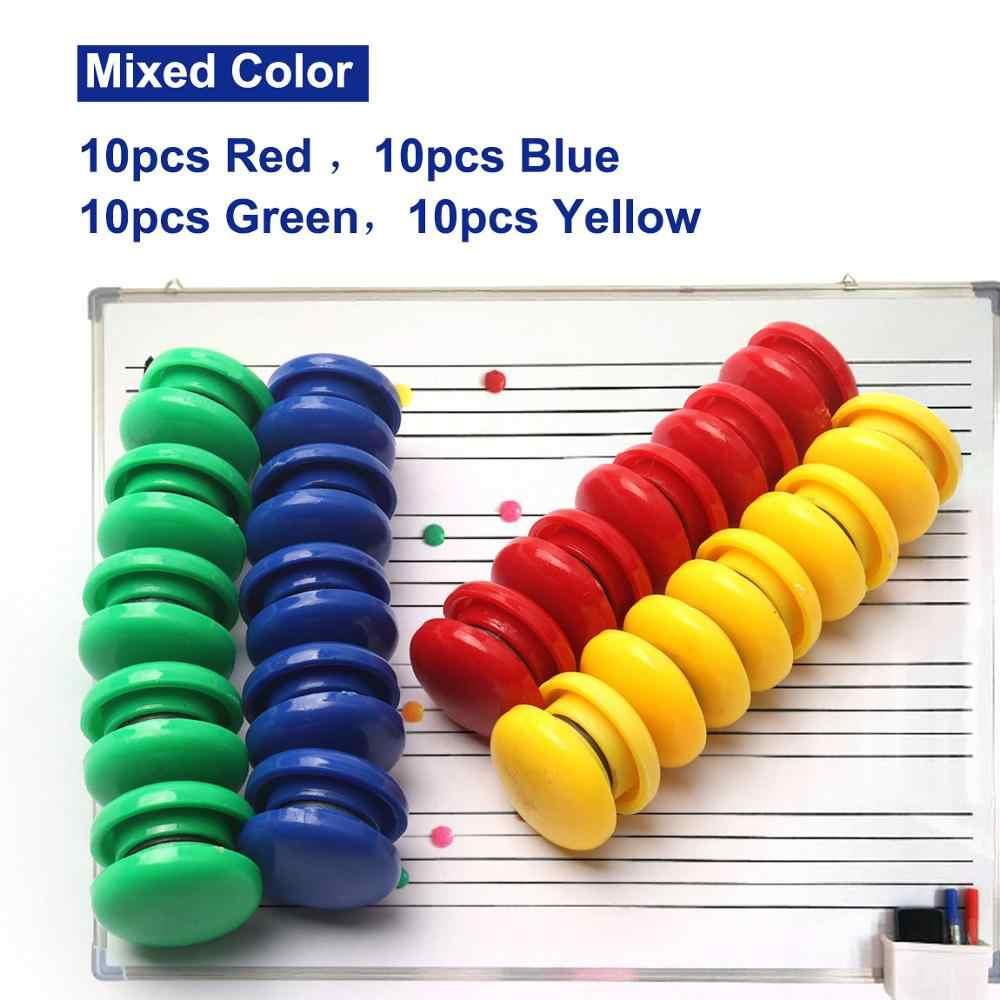 24pcs Memo Push Pin Magnets Fridge Kitchen Office Bulletin Boards Note Holder