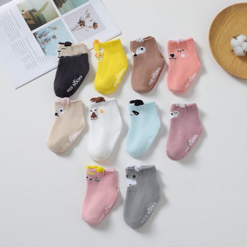 Spring Autumn Non-slip Baby Socks New