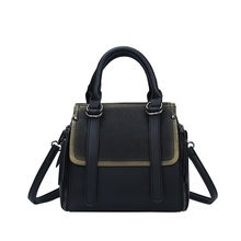 2019 New PU Leather Retro Style Popular Womens Handbags Solid Color Simple Hot Sale Girls Small Shoulder Bag ZX-092.
