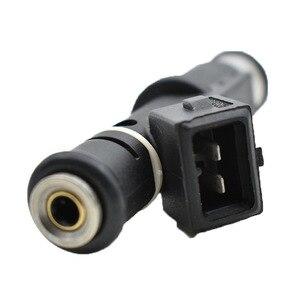 Image 4 - 8 unids/set de alta calidad los inyectores de combustible 1984E2 01F003A 1984 E2 348004 de 75116328, 0280156328 para Peugeot 206 experto Citroen 2,0/16 V