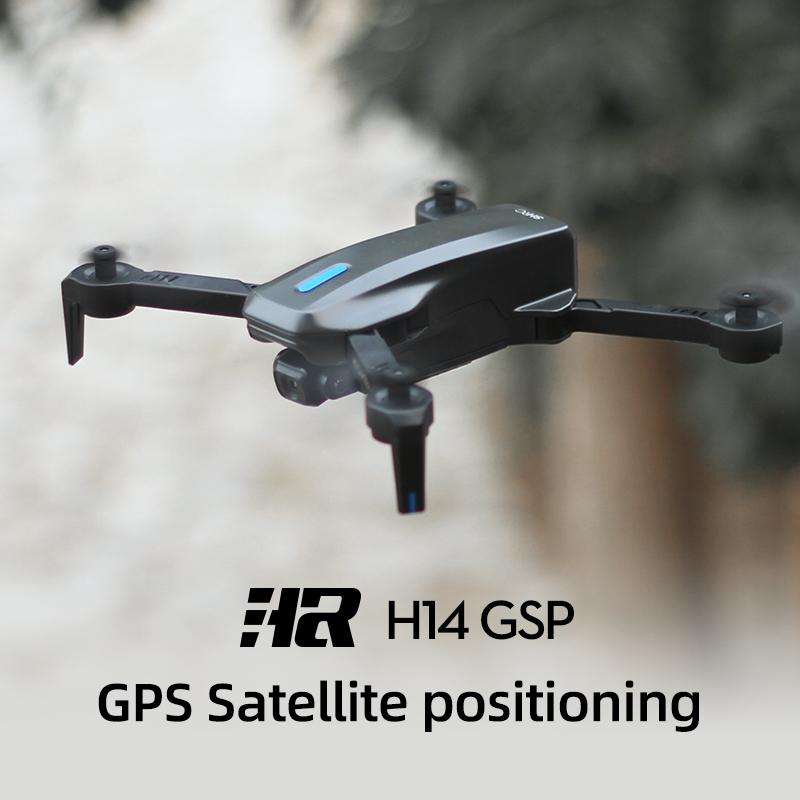 H14 GPS Drone VS E58 ,E88 Drone With 4K HD Dual Camera 2.4G/5G WiFi FPV 75 Degree Electric Adjustment Quadcopter Waypoint fligh