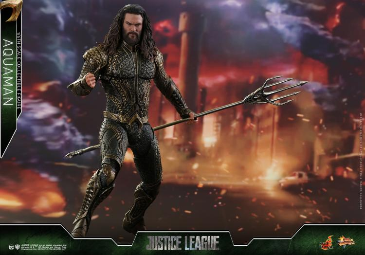 Full set figure HotToys MMS447 1/6 Scale Aquaman Jason Momoa Action Figure doll toys for fans Collection Gift 1