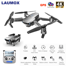 LAUMOX SG907 GPS Drone with 1080P 4K HD Camera Wide Angle 5G FPV Optical Flow RC Mini Quadcopter Professional Foldable Drones
