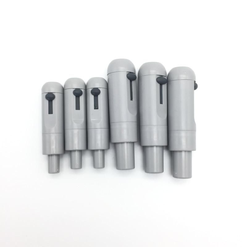 6pcs/3set Dental Saliva Ejector Suction Valves SE HVE Tip Adapter Nozzle Plastic For Sale