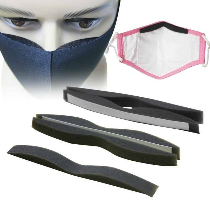 N95 Microfiber Memory Foam Ffp3 Anti-Fog Nose Bridge Pads Cushion For Mouth Mask Comfortable Sponge Protection Strip Face Mask
