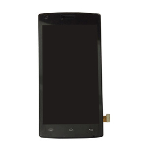 """Image 2 - 5,0 """"Schwarz/Weiß mit rahmen Für DOOGEE X5 MAX PRO LCD display mit touch screen digitizer sensor montage freies verschiffen"""