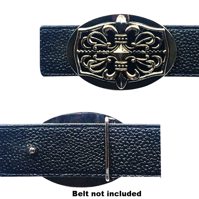 High Quality Metal Accessories Military Men's Belt Buckle Fit 4 Cm Wide Belt Western Cowboy Dress Championship Belt