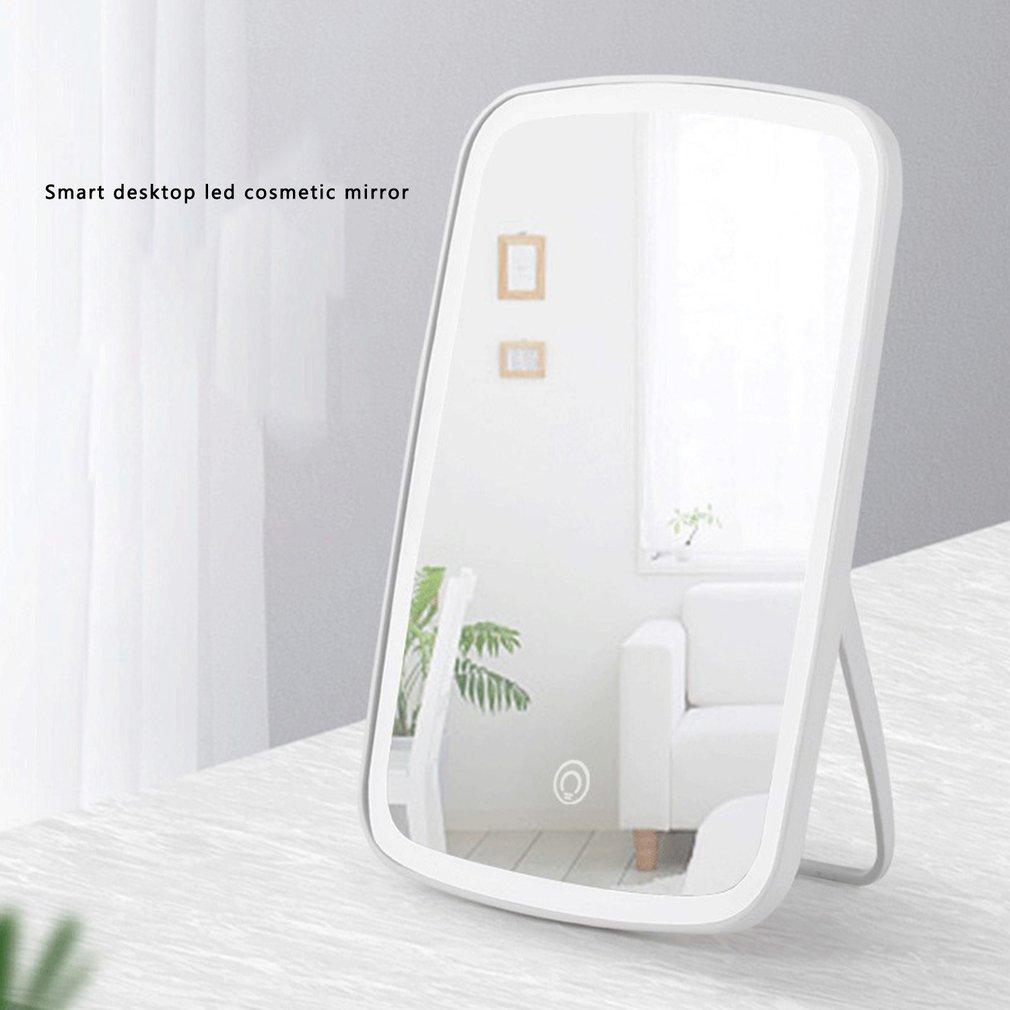 Купить настольное зеркало для макияжа общежития женское настольное