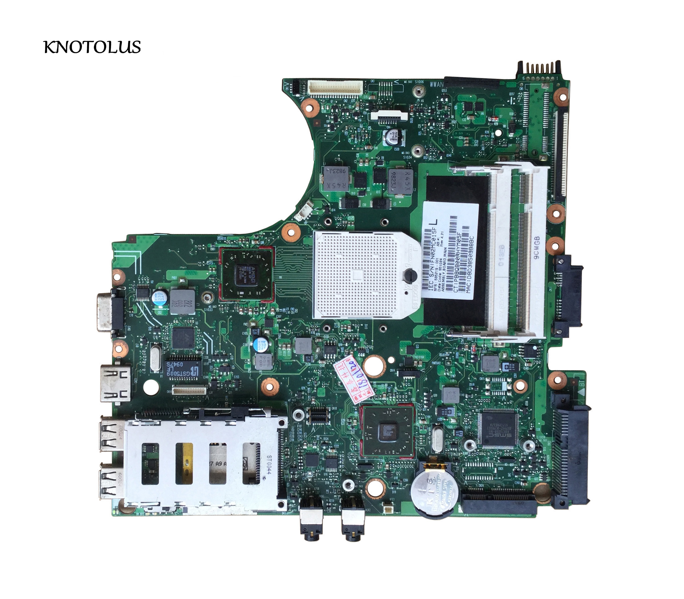 High Quality 585219 001 Board For Hp 4515s 4415s Laptop Motherboard Fully Test Laptop Motherboard Aliexpress