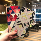 TPU Geometric Coque ...