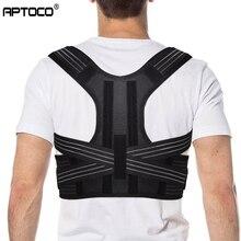 Aptoco Posture Corrector Brace Shoulder Back Support Belt fo